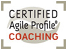 Logo certified agile profile coaching